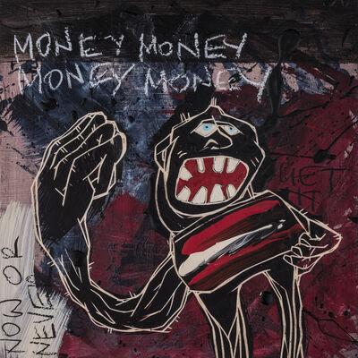 Jörg Heikhaus aka Alex Diamond, 'Money Money Money Money | The Freedom Paintings #16', 2018