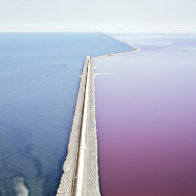 David Burdeny, 'Photosynthetic 2 Great Salt Lake', 2021