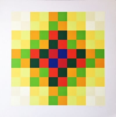 Hugo Demarco, 'Relation Couleur', 1973
