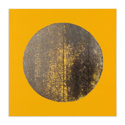Chad Kouri, 'Reflection Pool Yellow (2x2)', 2021