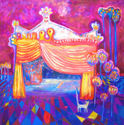 Wendy Bantam, 'The Mysterious Circus Tent and the Return of the Good Luck White Cat', 2017