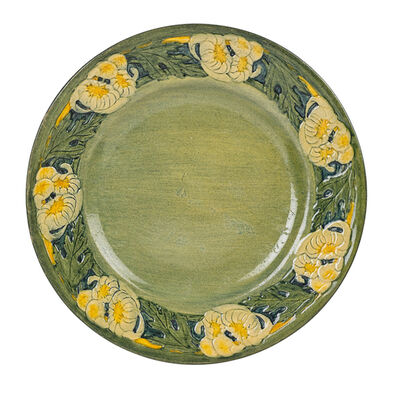 Anna Frances Simpson, 'Early Plate With Chrysanthemums, New Orleans, LA', 1913
