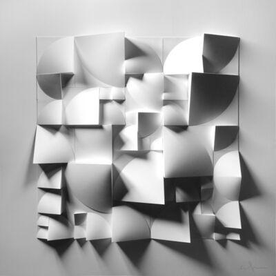 Matt Shlian, 'Omoplata 21 in White Variation 2', 2020