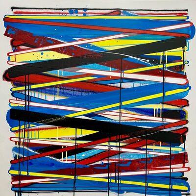 Momies, 'Lignes abstraites #1', 2017