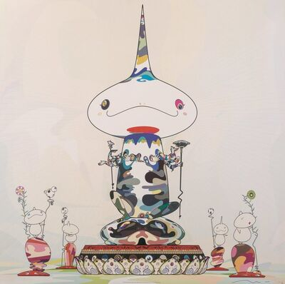 Takashi Murakami, 'Reversed Double Helix Mega Power', 2005