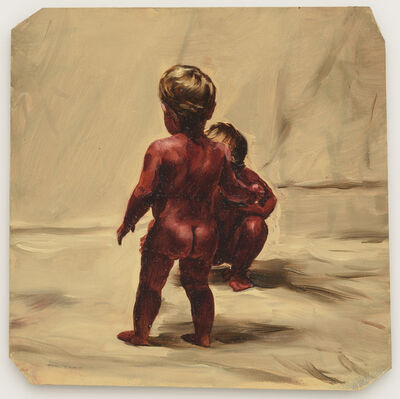 Michaël Borremans, 'Fire from the Sun', 2017