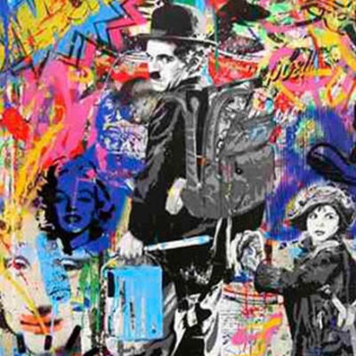 Mr. Brainwash, 'Just Kidding', 2016