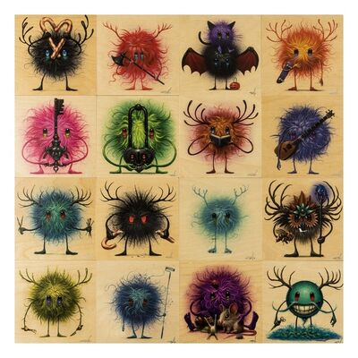 Jeff Soto, 'Seeker Friends (sixteen works)', 2012