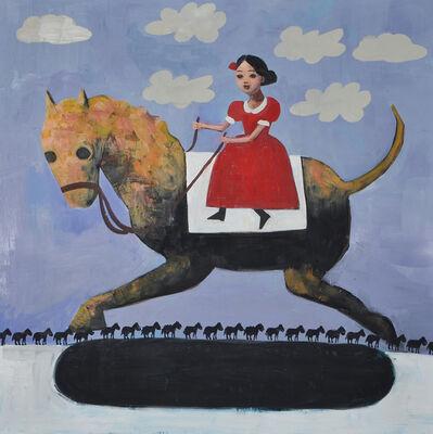 Rimi Yang, 'Funny Horses', 2017