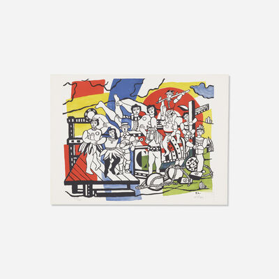After Fernand Léger, 'The Great Parade', 1955