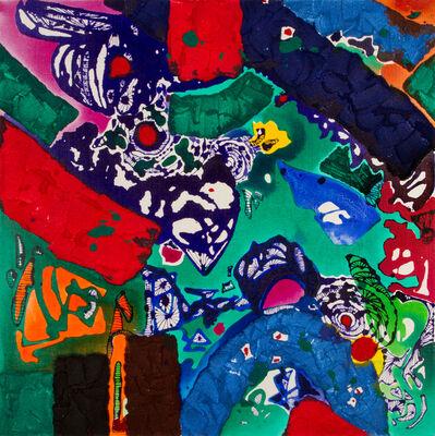 Lee Sun Hwa, 'Spiritual moving - Blue Diamond', 2015