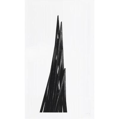 Bernar Venet, 'Acute Uneven Angles', 2017