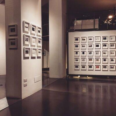 ILEX XMAS16 Small Print Sale, installation view