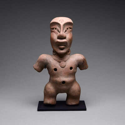Olmec Culture, 'Olmec Sculpture of a Standing Figure', 900 BC to 450 BC