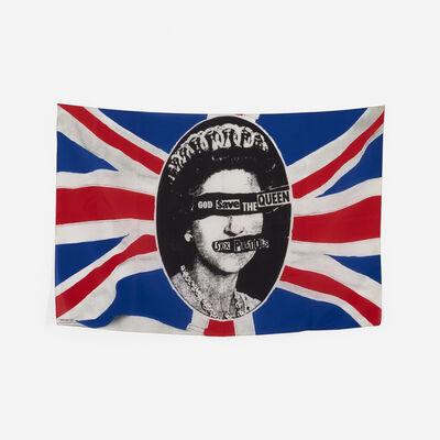 Jamie Reid, 'God Save the Queen Banner for the Sex Pistols', 1977