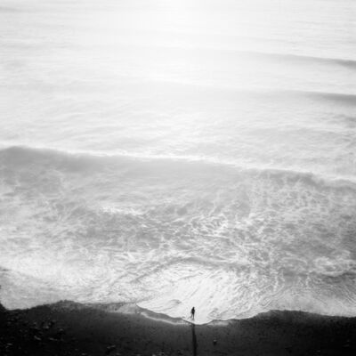 Jeffrey Conley, 'Figure and Tide, Big Sur', 2001