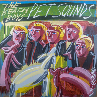 Steve Keene, 'Beach Boys - Pet Sounds', 2015