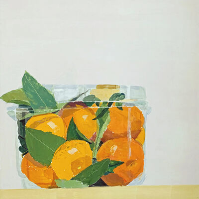 Sydney Licht, 'Still Life with Oranges', 2021