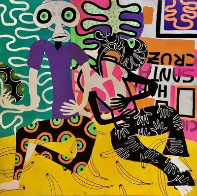 Frantisek Florian, 'African Figures 6', 2019