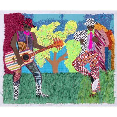 Franklin Mbungu Wabonga, 'Musicien', 2015