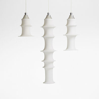 Bruno Munari, 'Falkland hanging light fixtures, set of three', 1964