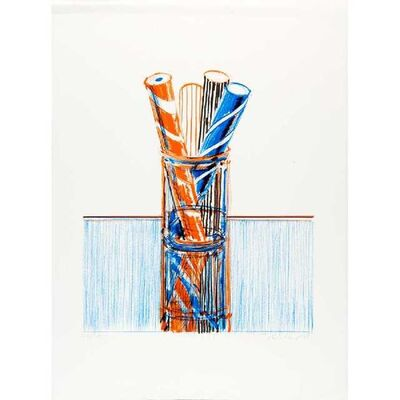 Wayne Thiebaud, 'Glassed Candy', 1980