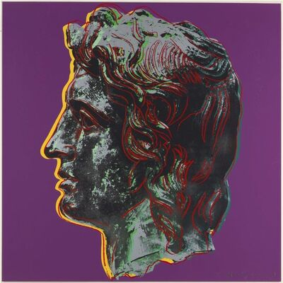 Andy Warhol, 'Alexander The Great II.291', 1982