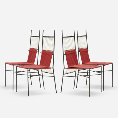 Paul McCobb, 'Pavilion Collection dining chairs, set of four', 1952