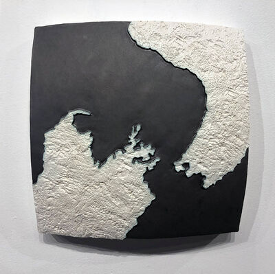 Gregor Turk, 'Choke II: Cook Strait (North & South Island, New Zealand)', 2021