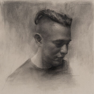Irvin Rodriguez, 'Study Of David', 2017