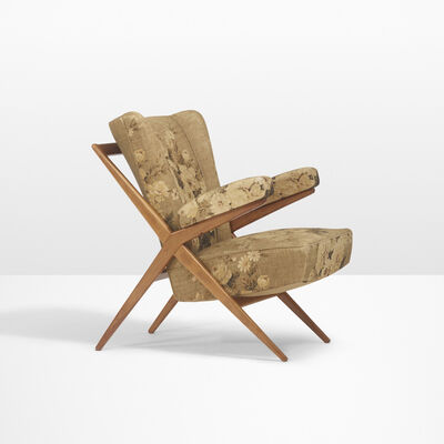 Franco Albini, 'Lounge chair, model Ca 832', 1946