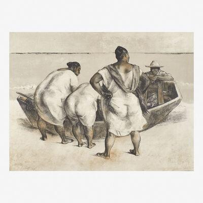 Francisco Zúñiga, 'Mujeres al Mar', 1977
