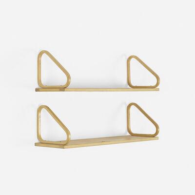 Alvar Aalto, 'wall-mounted shelves, set of two', 1933