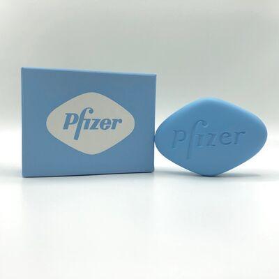 Damien Hirst, 'Baby Blue Pfizer VGR 100mg ', 2014