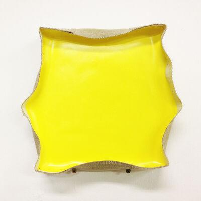 Satoshi UCHIYAMA, 'Pump Painting Yellow', 2014