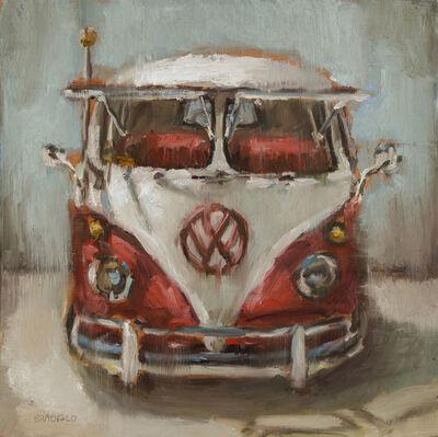 Bradford J. Salamon, 'Red VW Bus', 2019
