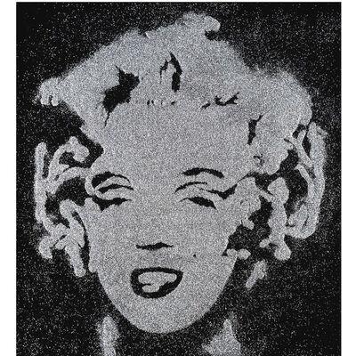 Vik Muniz, 'Reversal Silver Marilyn (Pictures of Diamond Dust)', 2003