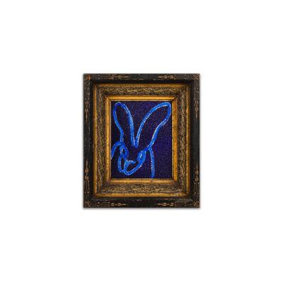 Hunt Slonem, 'BLUE DIAMOND', 2020