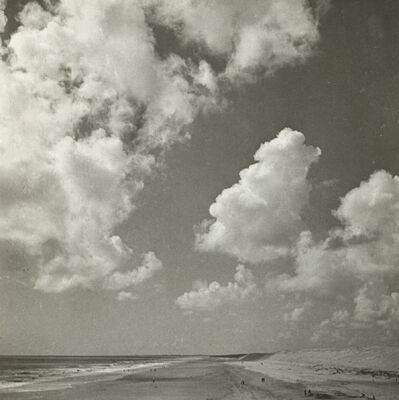 Emmanuel Sougez, 'Cloud Study with Beach', 1930s/1930s