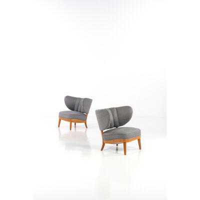 Otto Schultz, 'Pair of armchairs', circa 1930