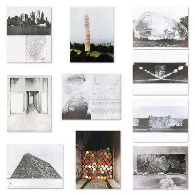 Christo, 'Monuments Portfolio', 1968