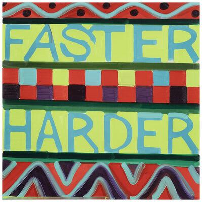 Johannes Hägglund, 'Faster Harder', 2019