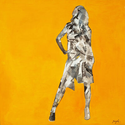 Lenner Gogli, 'Silhouette Yellow', 2012
