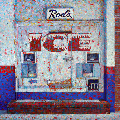 Raymond Logan, 'Rod's Ice', 2020