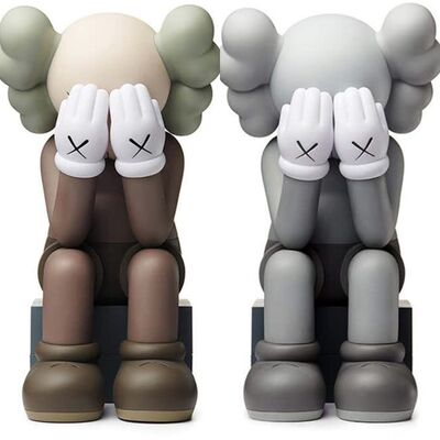 KAWS, 'KAWS Passing Through Companion: set of 2 (2018)', 2018