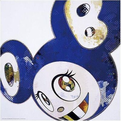 Takashi Murakami, 'And Then x6 (Blue: The Polke Method)', 2016
