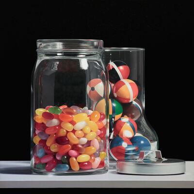 Adolfo G. Bigioni, 'Le caramelle e i colori di Siena', ca. 2019