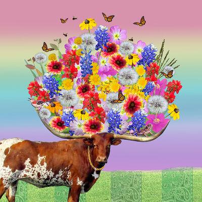 Julia McLaurin, 'Longhorn Bouquet', 2020