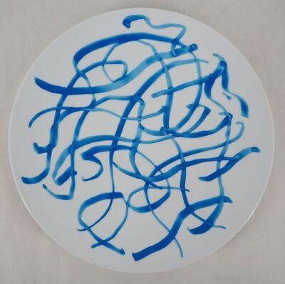 Zao Wou-Ki 趙無極, 'Blue Plate', 2005