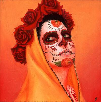 """Sylvia Ji, '""""Catrina, Sol Amarillo""""', 2020"""